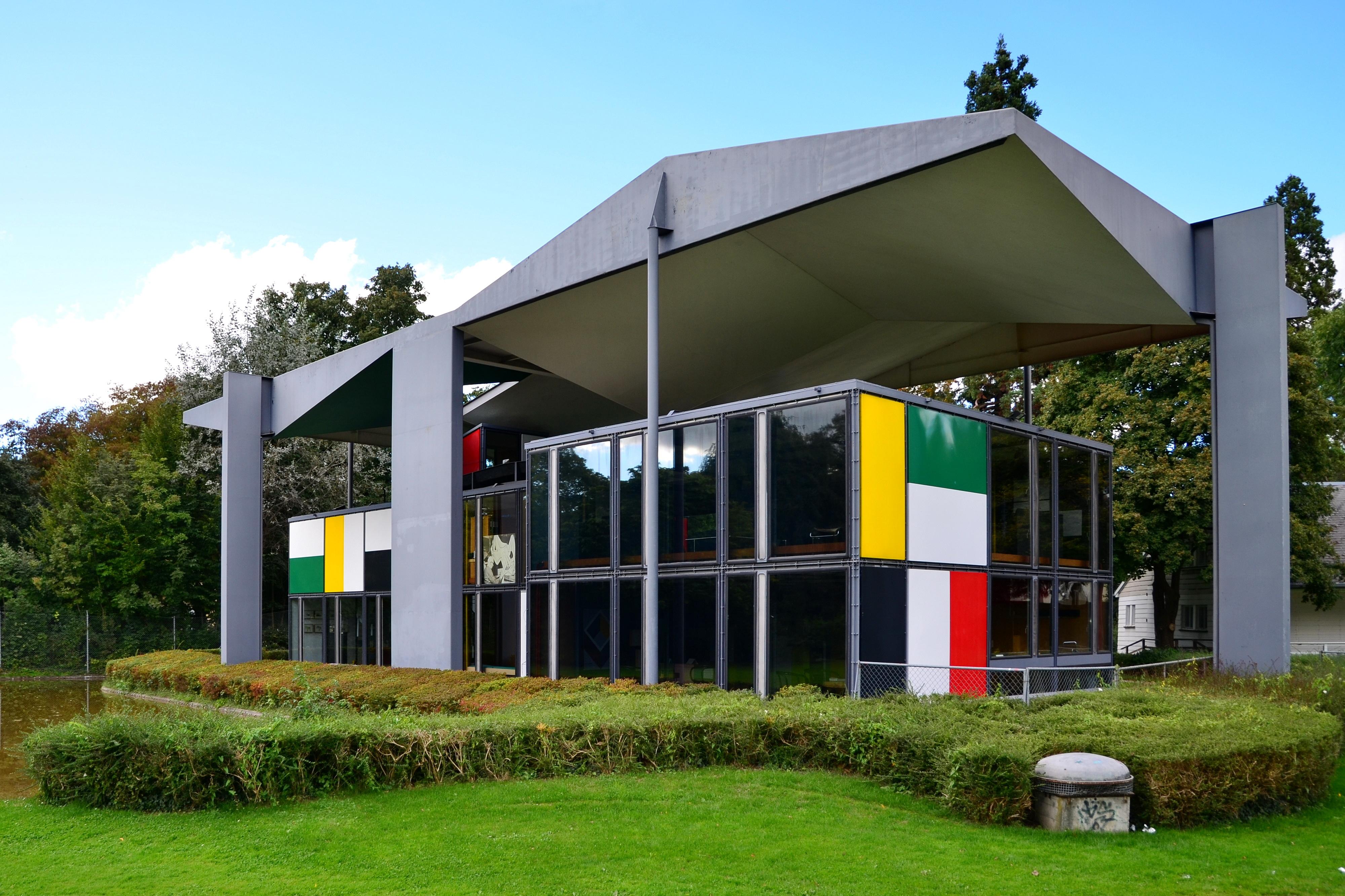 Modern Style Home Plans Centre Le Corbusier