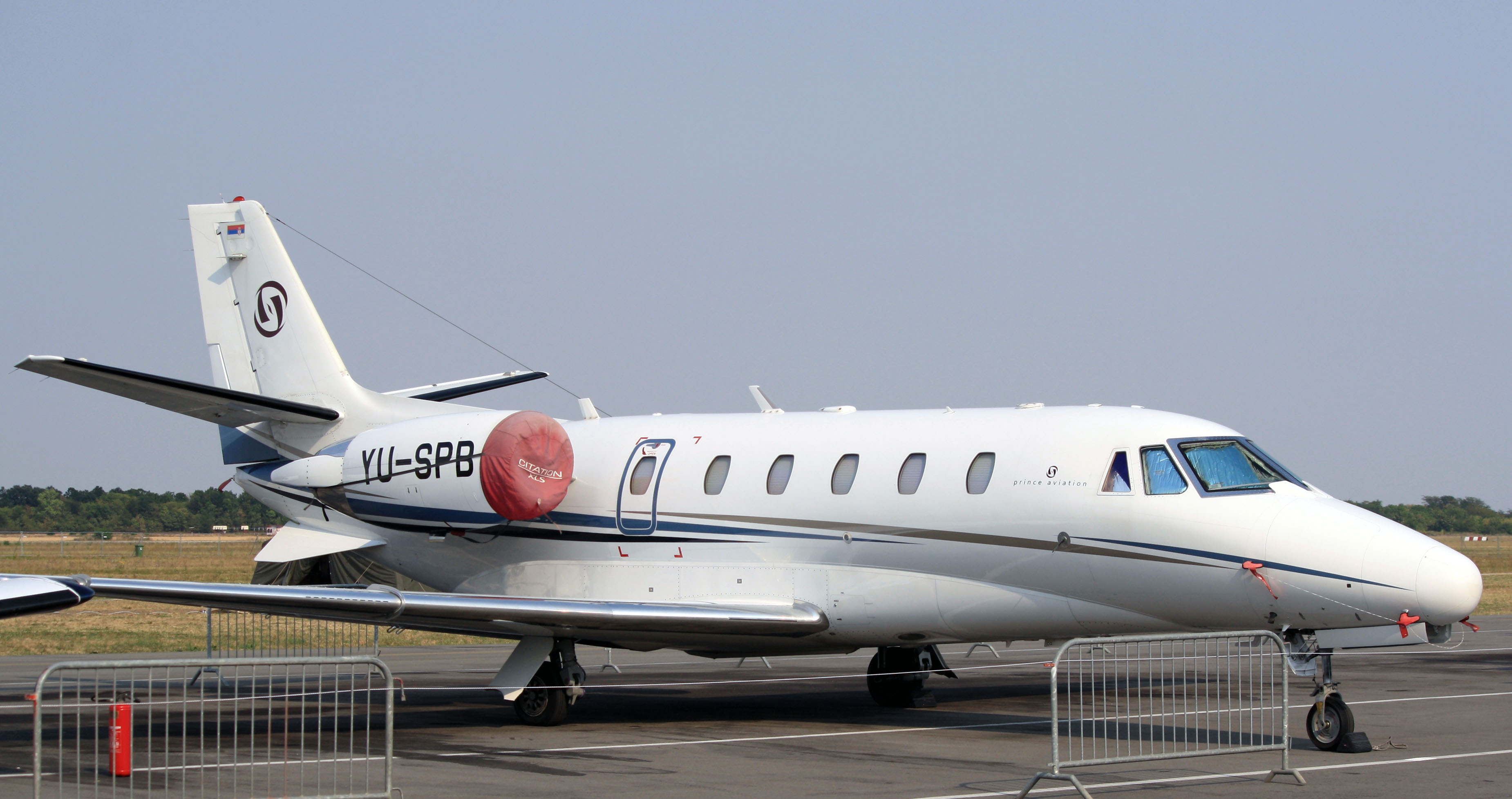 File:Cessna 560XL Citation XLS YU-SPB, Prince aviation ...