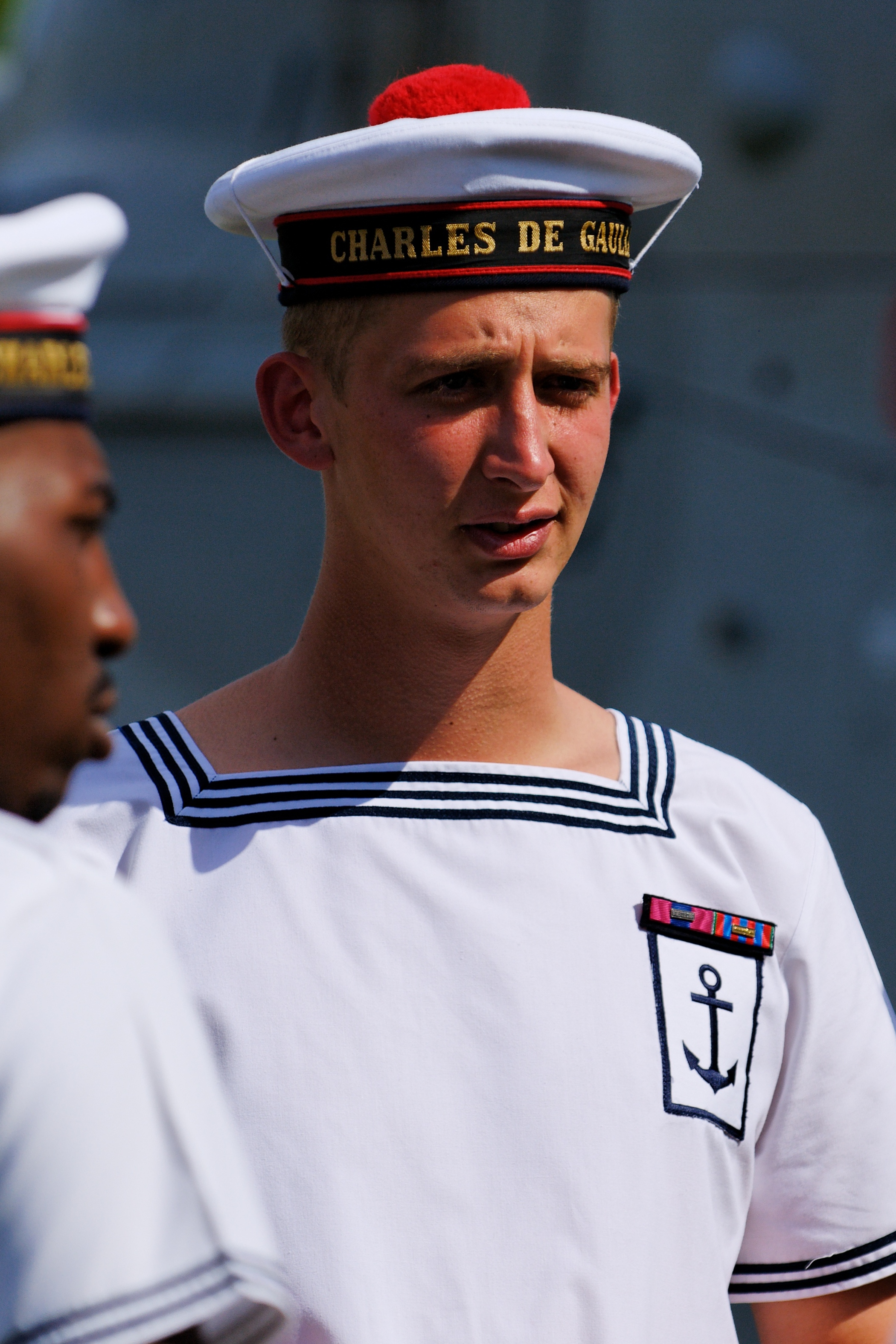 File Charles De Gaulle Seaman Bastille Day 2008 Jpg Wikipedia