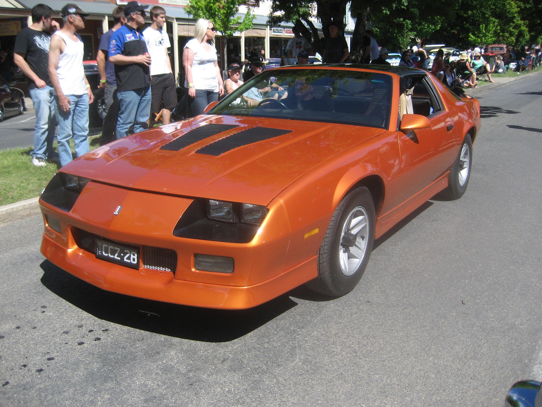 File Chevrolet Camaro Z28 1987 Jpg