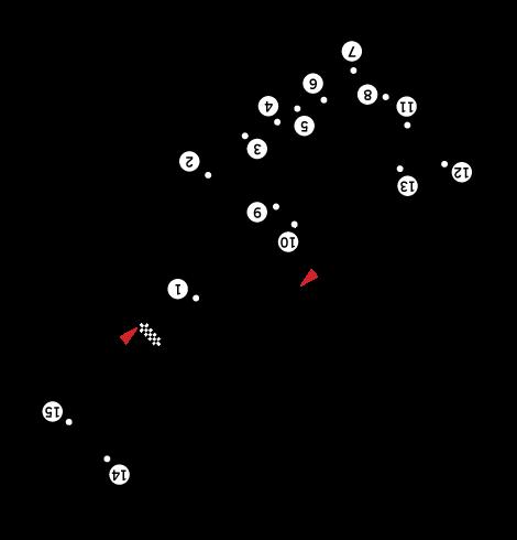 Depiction of Riverside International Raceway