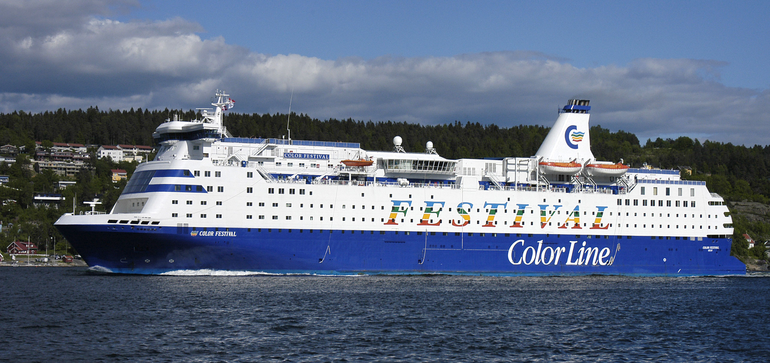 Book color line ferry - Ms Color Festival At The