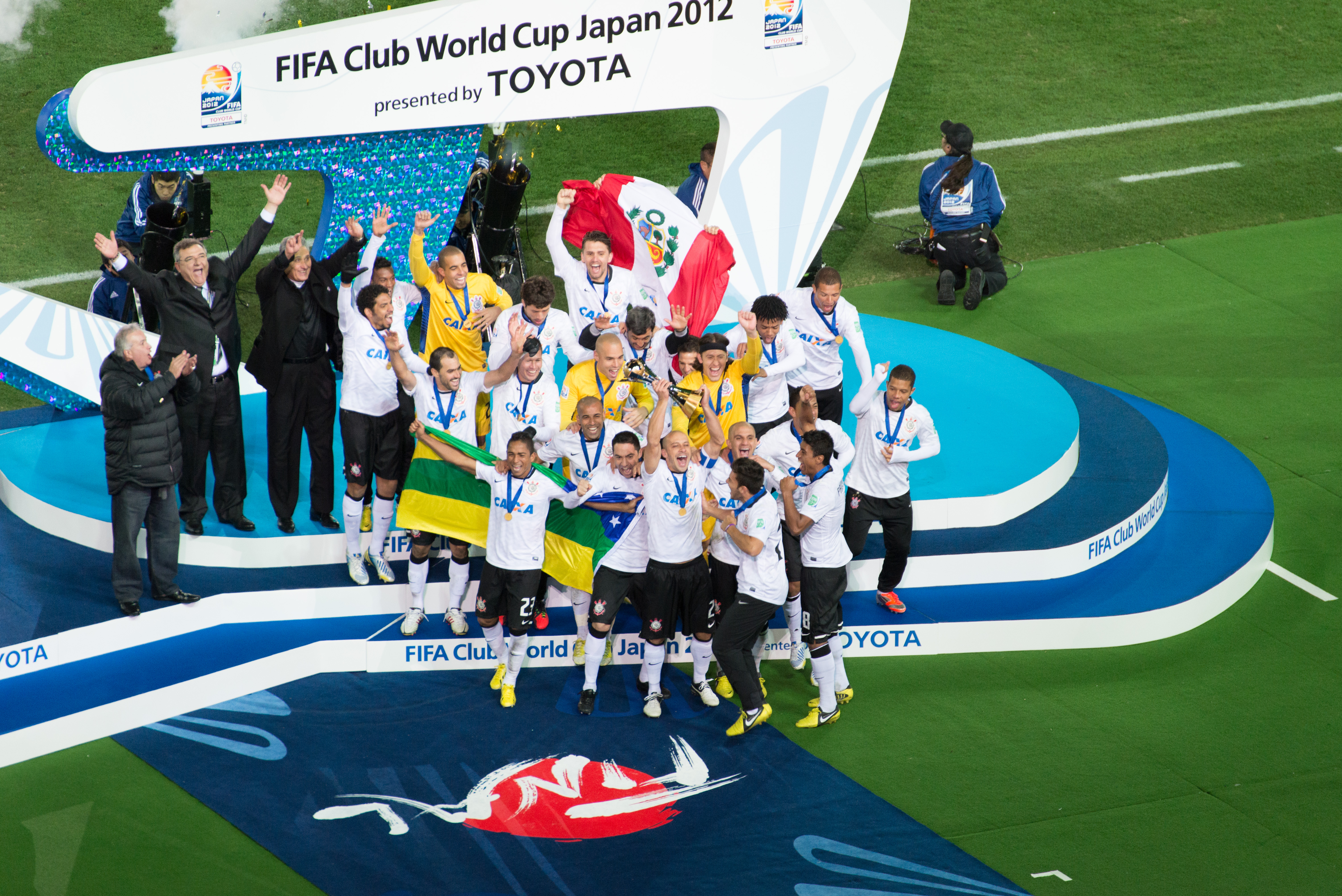 Description Corinthians Club World Cup 2012