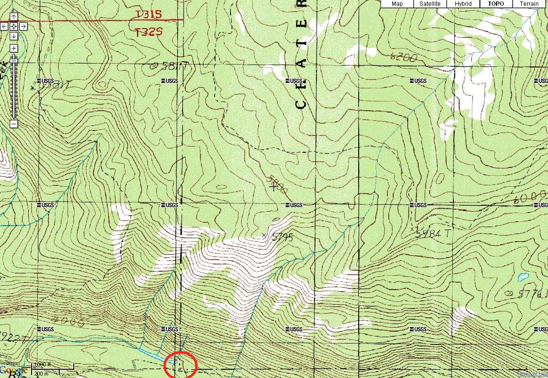 Crater Lake Topographic Map.File Crater Lake National Park Sw Corner Map Jpg Wikimedia Commons
