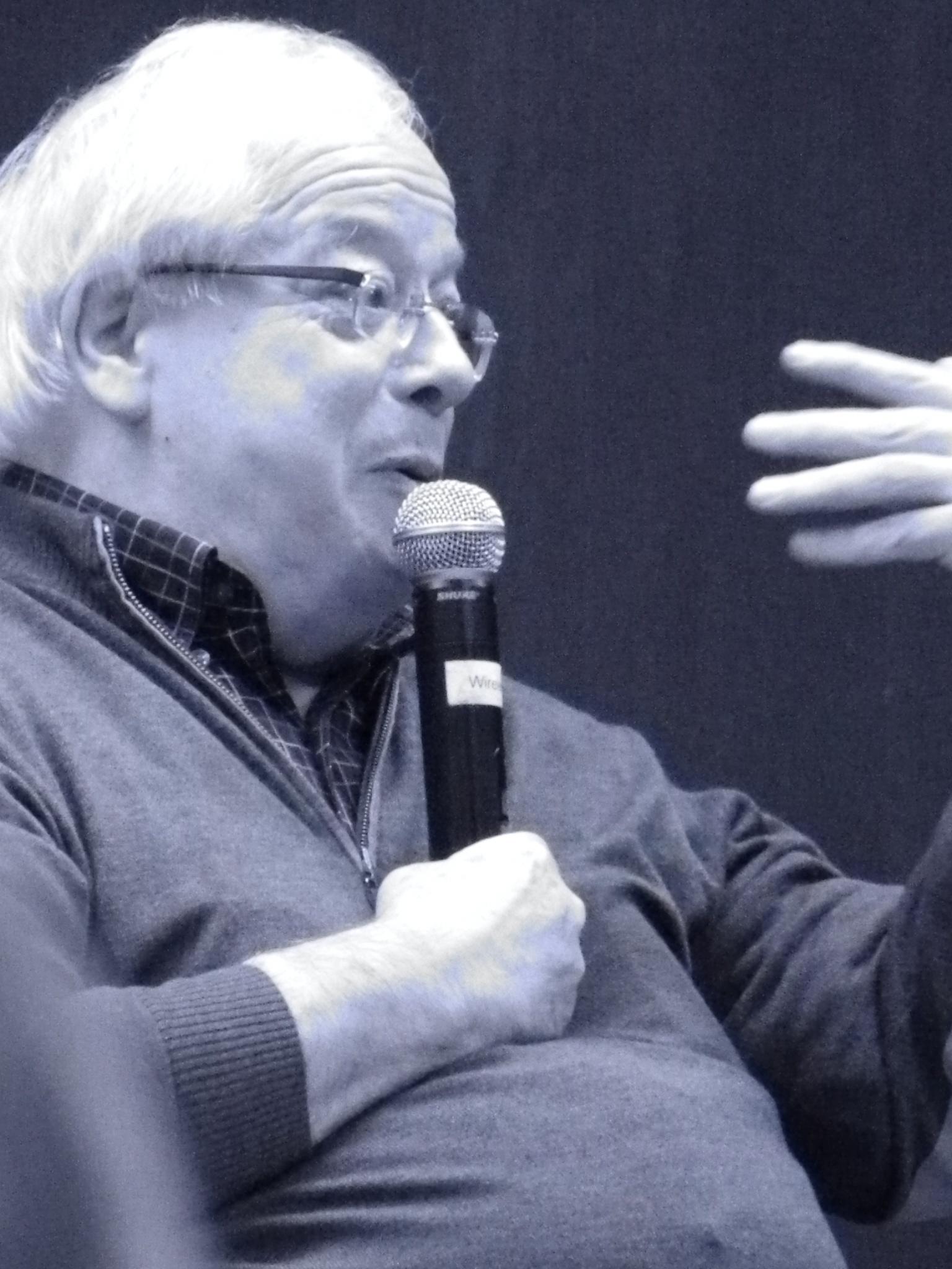 Thomson speaking in New York, 2013