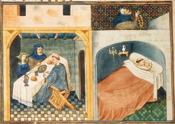 эротика в средневековье