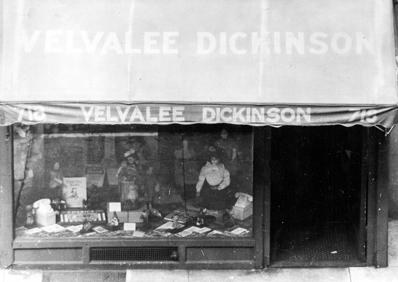 Dickinson's dollshop at 718 Madison Ave.