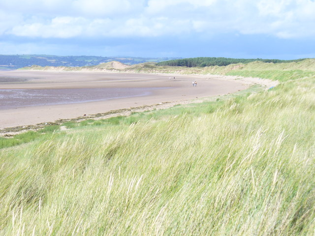 Dunes by Whiteford Sands - geograph.org.uk - 1418492