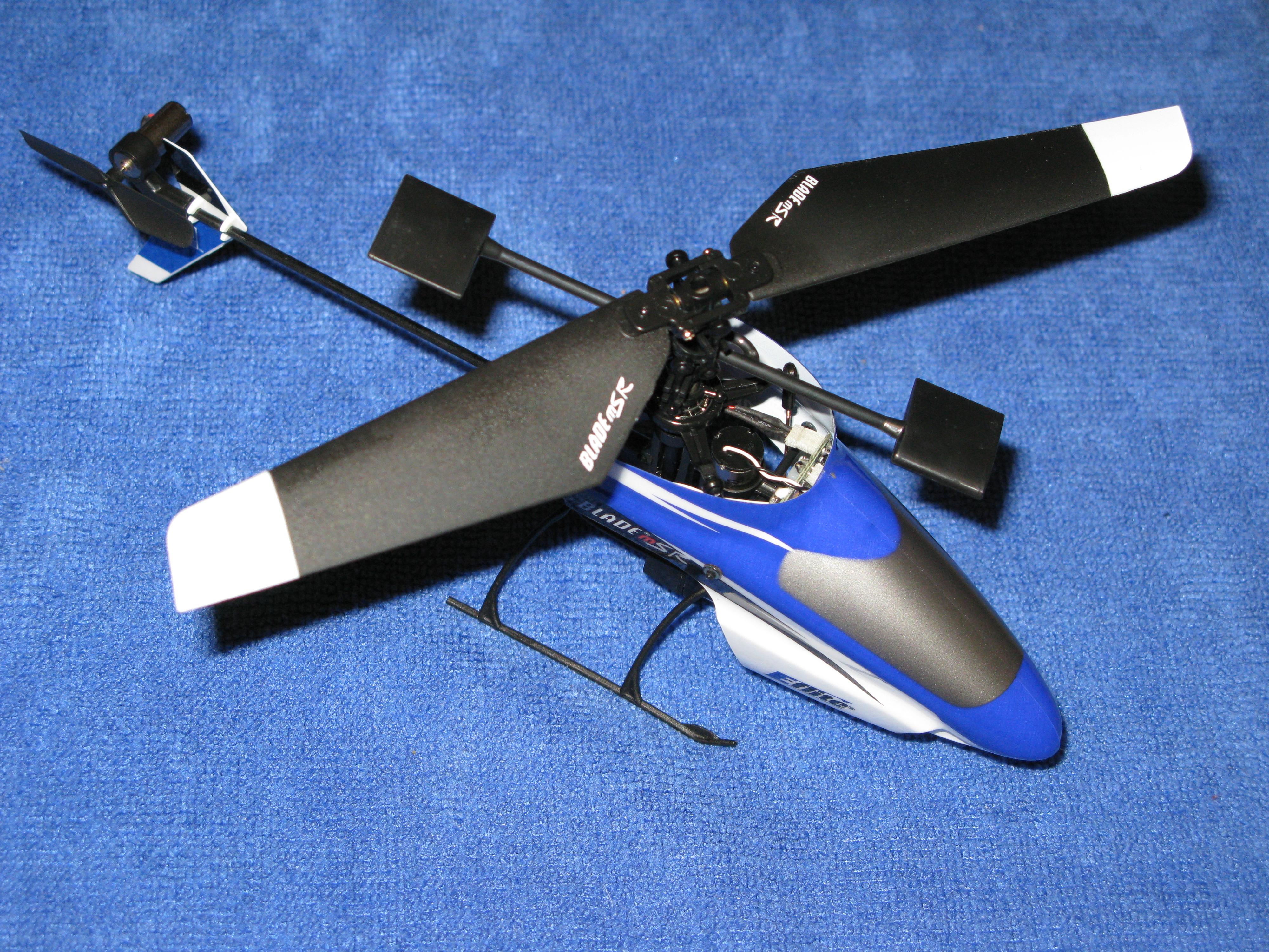 Single rotor drone