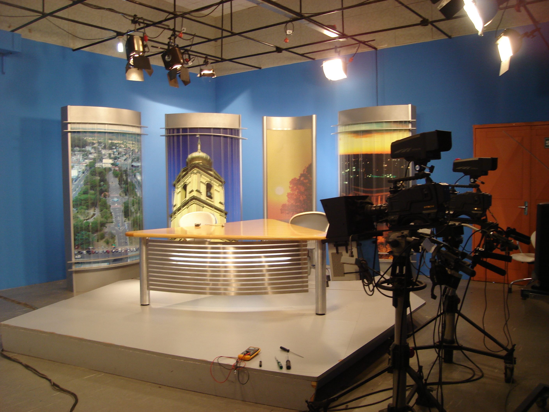 Sala De Tv Y Estudio ~ FileEstúdio  RBS TV Bagéjpg  Wikimedia Commons
