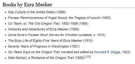 Ezra Meeker bibliography before OCLC.png