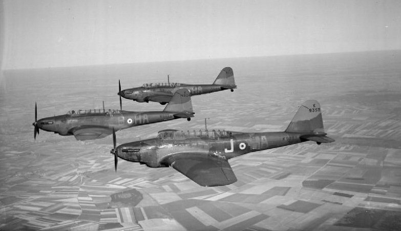 Fairey Battle - Royal Air Force in France, 1939-1940. C449
