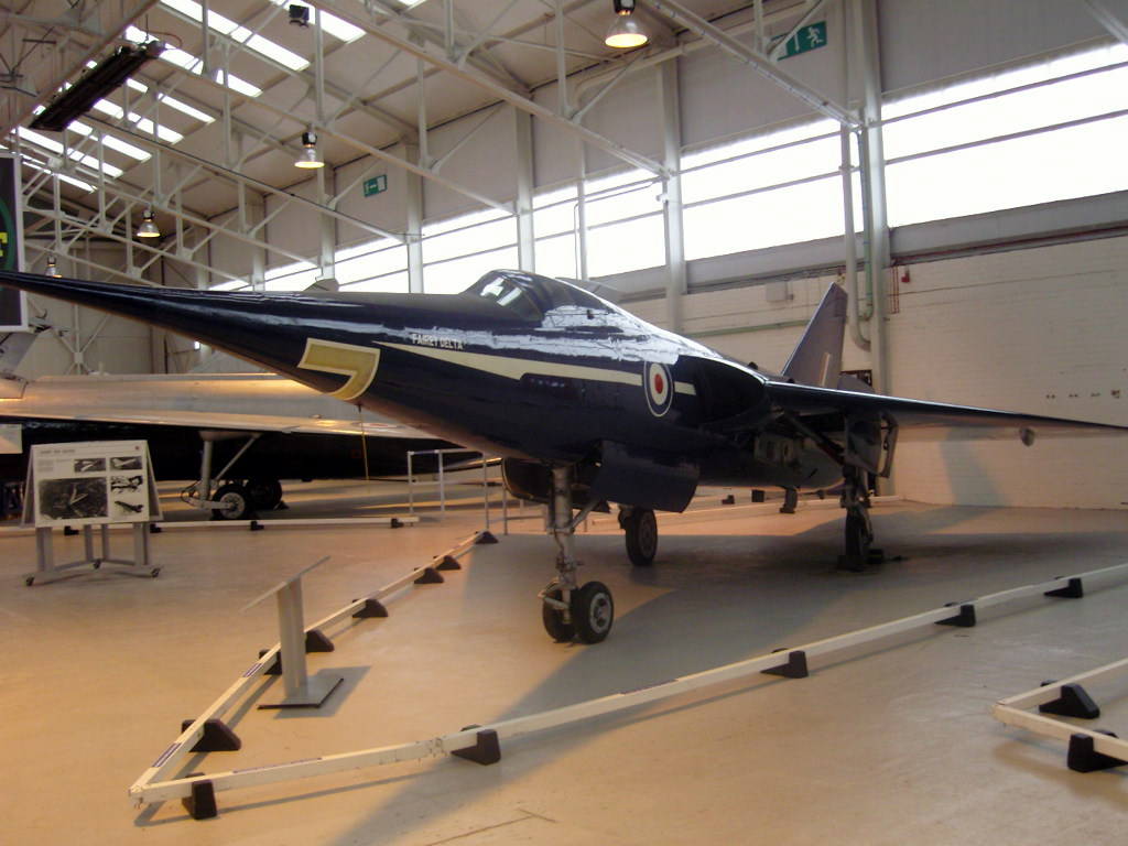 Fairey Delta 2 WG777 at the RAF Museum, Cosford, in 2007