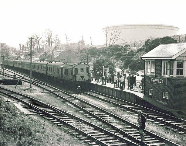 Hardley Railway Station Photo 6 Fawley Hythe Southampton Line.