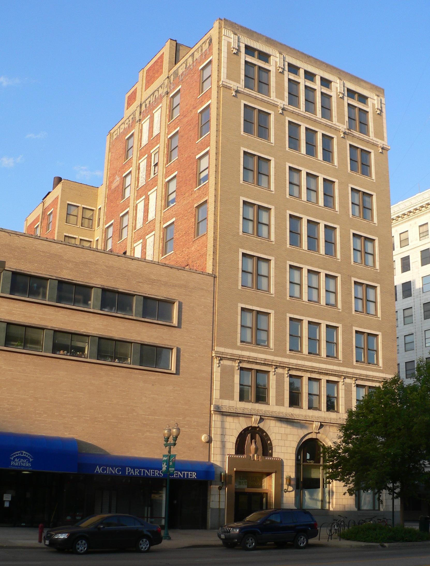 File:First National Bank bldg (Lincoln, Nebraska) from NE ...