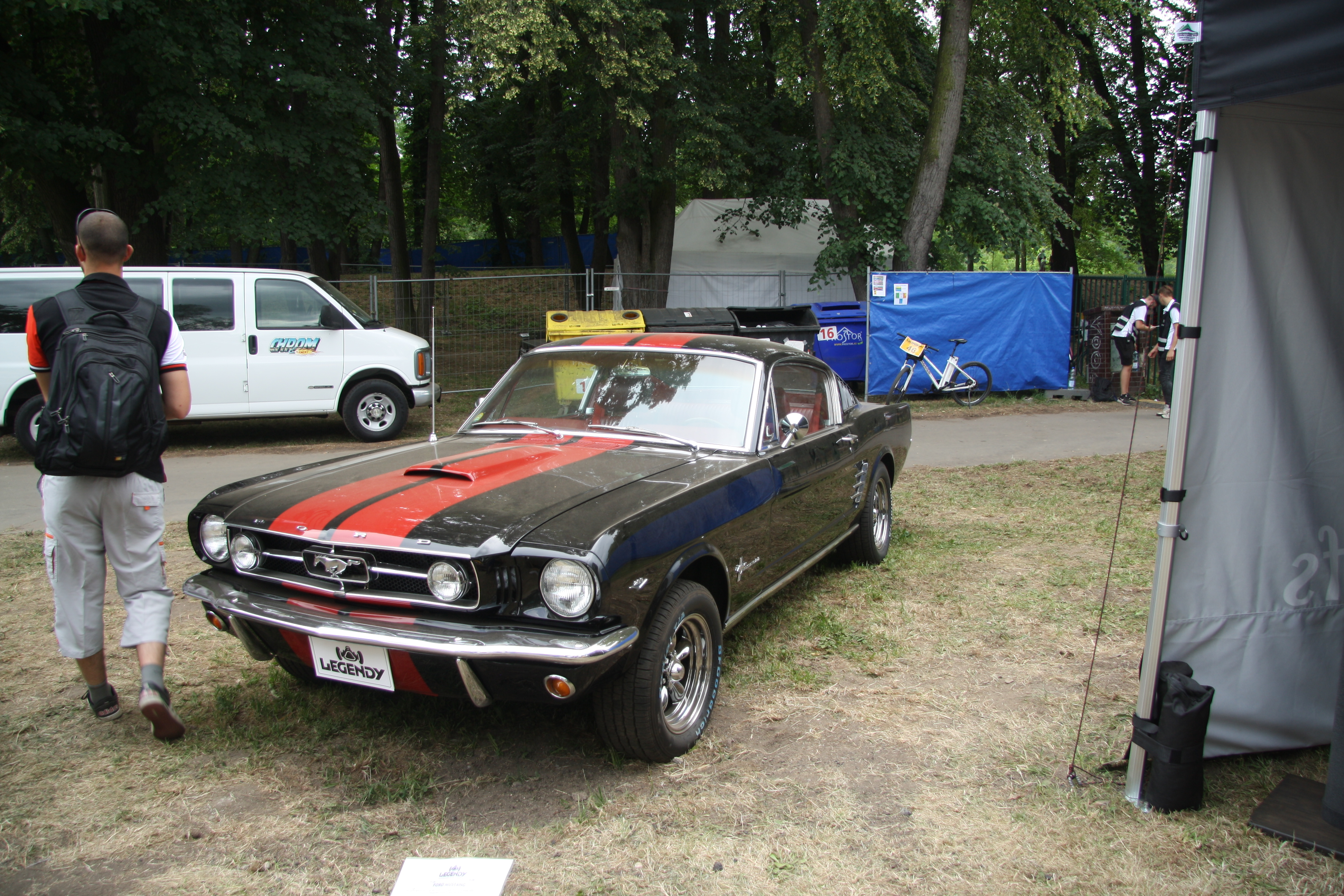 Fileford mustang 1965 at legendy 2018 in prague jpg