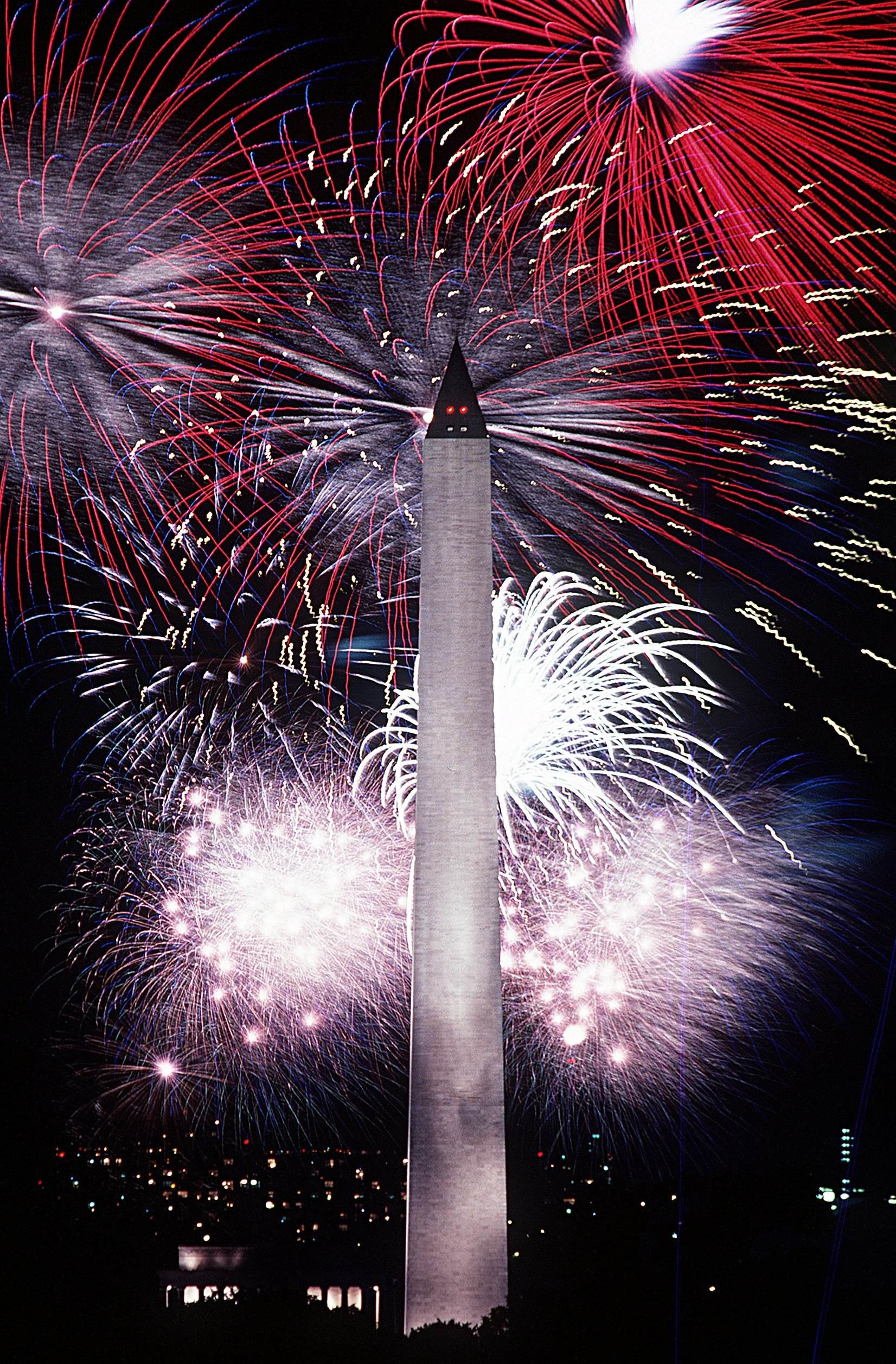 Fourth of July fireworks (USAF photo)