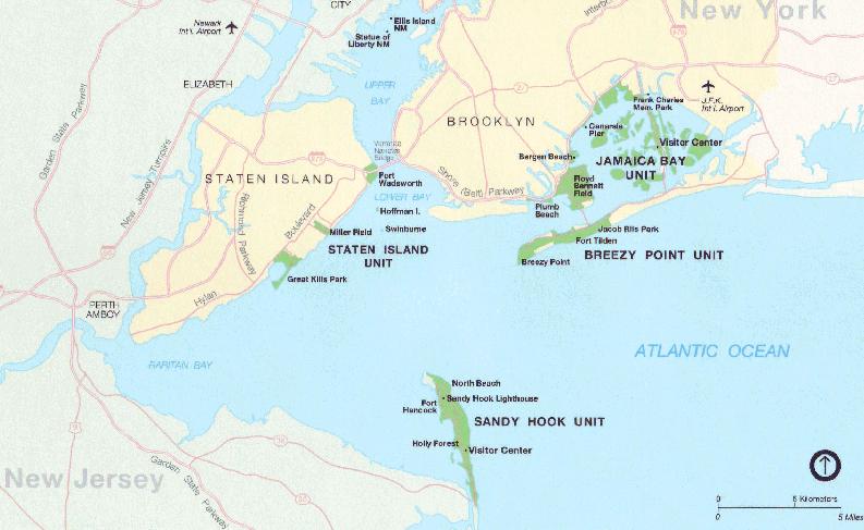 Belt parkway map