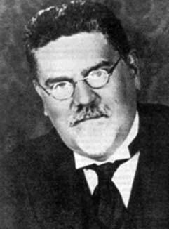 Giovanni Gentile (1875-1944) gold als huisfilosoof van het fascisme.