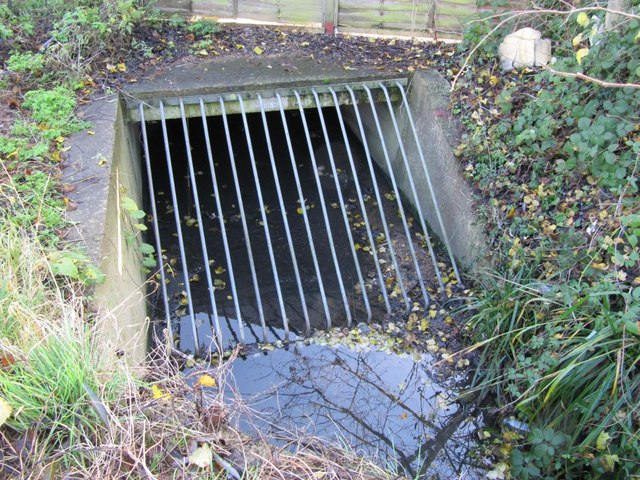 file grate on the culvert geograph org uk 1634830 jpg