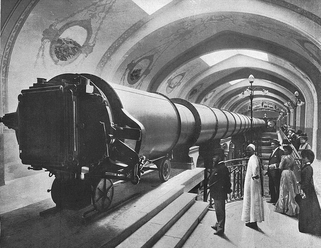 Grande lunette de l 39 exposition universelle de paris 1900 for Adresse paris expo