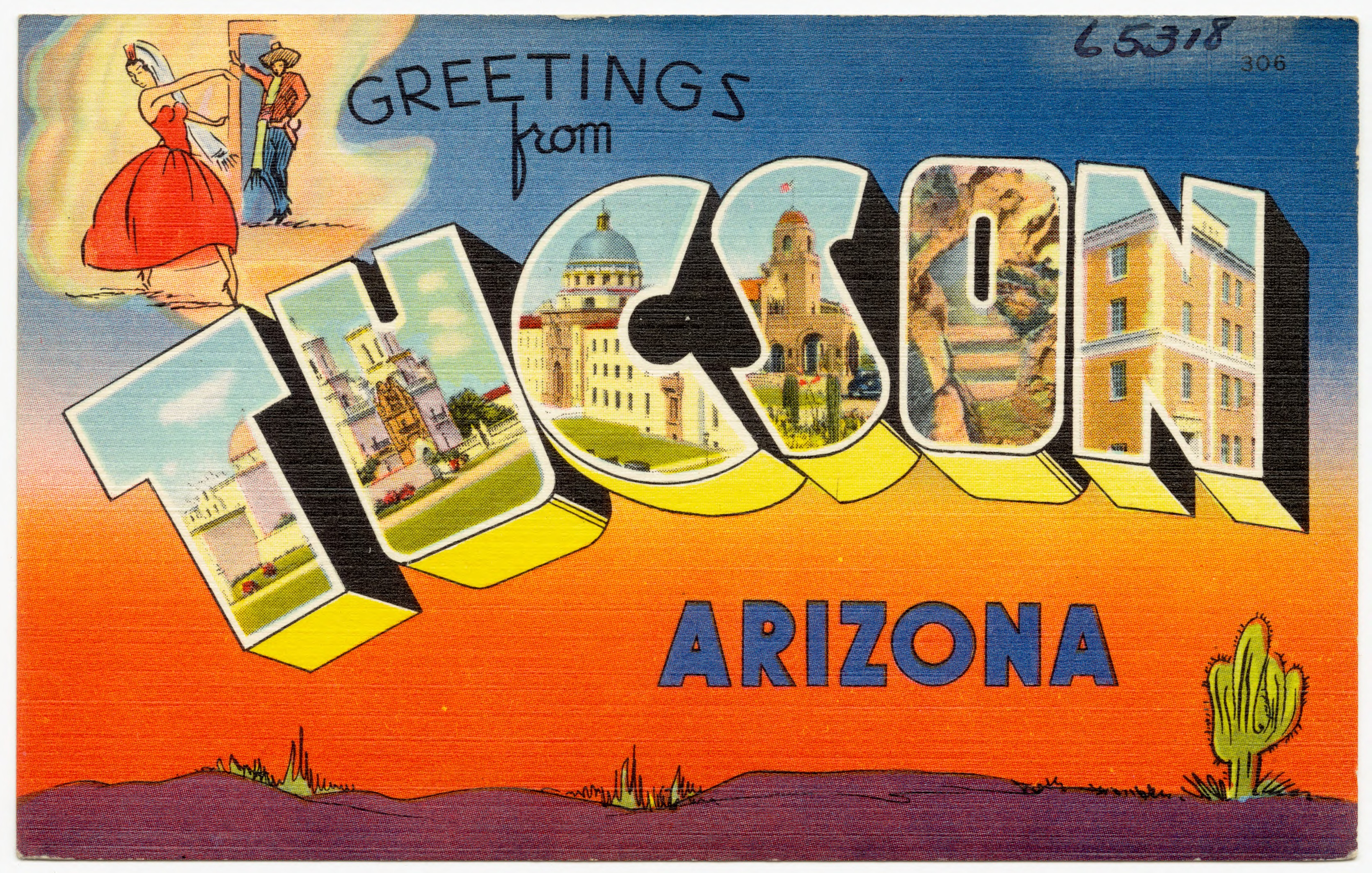 Filegreetings From Tucson Arizona 65318g Wikimedia Commons