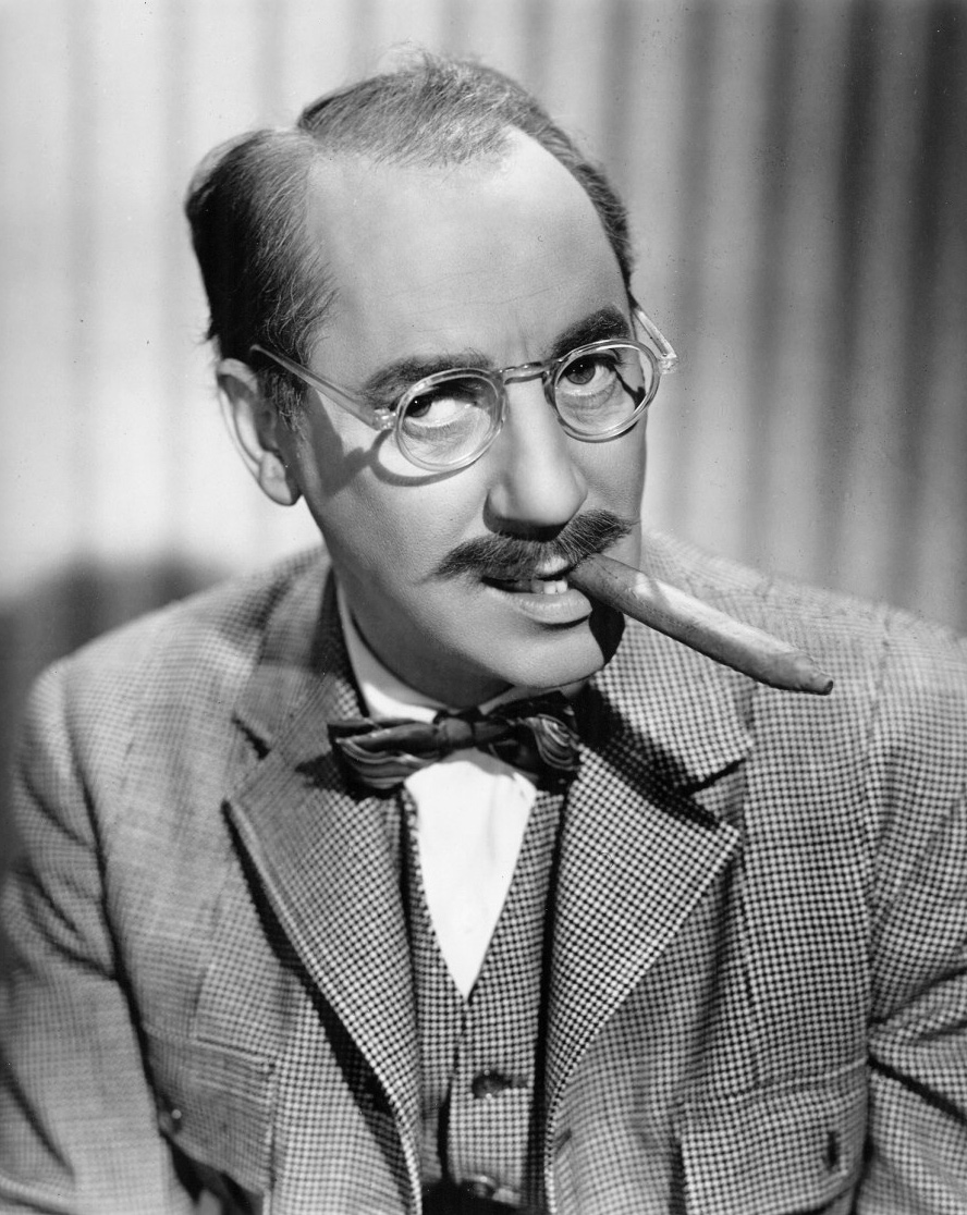 Depiction of Groucho Marx