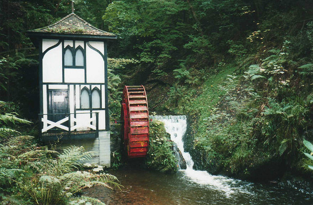 File:Groudle Glen waterwheel - geograph.org.uk - 1121053.jpg