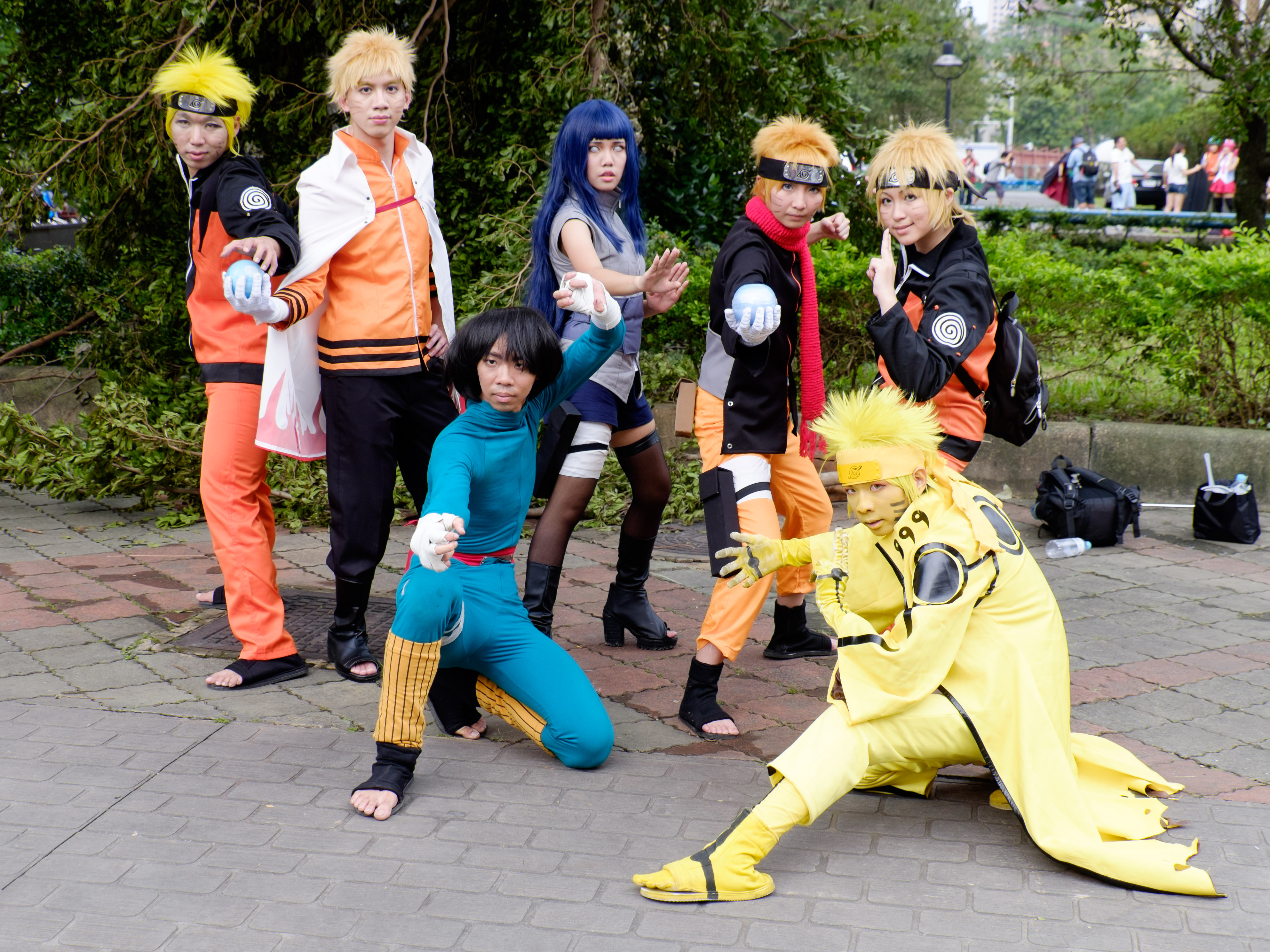 File Group Portrait Of Naruto Cosplayers At Cwt40 20150809 Jpg