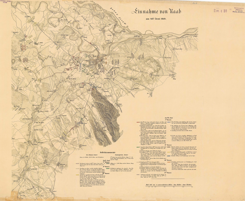 File Gyori Utkozet 1849 Jun 28 Terkep Jpg Wikimedia Commons