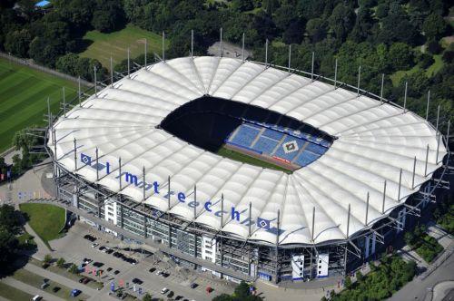 Die Imtech Arena im Juli 2012