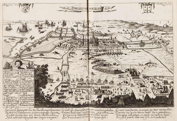 Het beleg van Haarlem in 1572 (Pieter Jansz. Saenredam, 1628)
