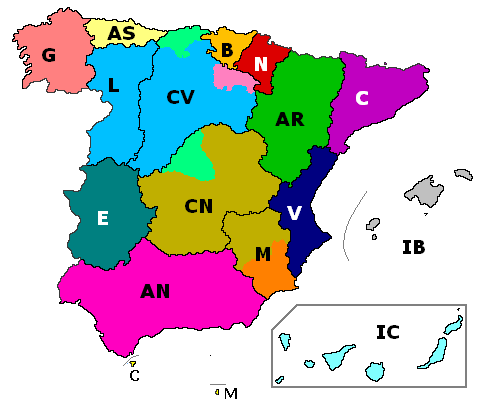 FileHistoric Regions and Autonomous Communities of Spainpng