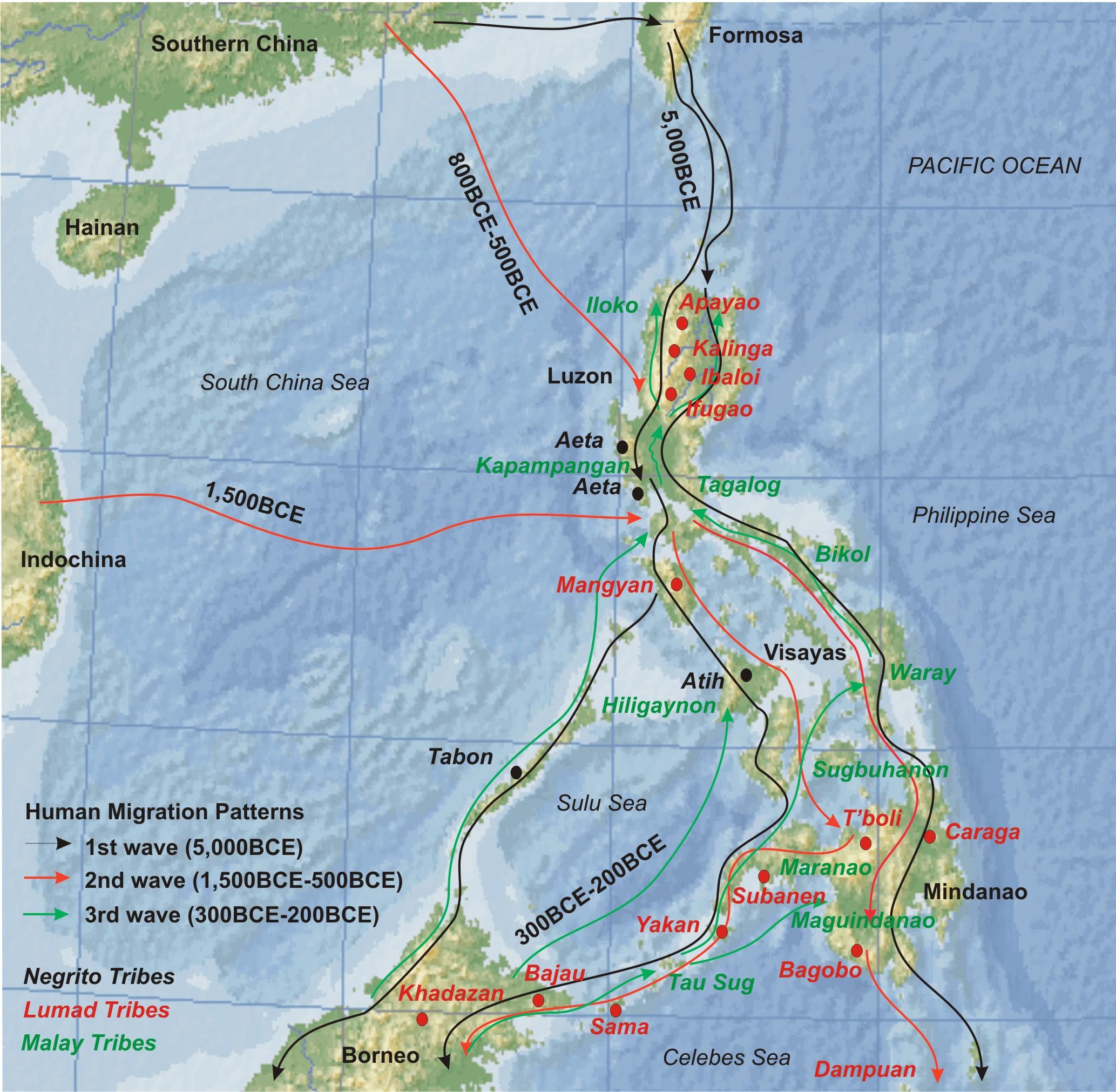 History of Philippine migration