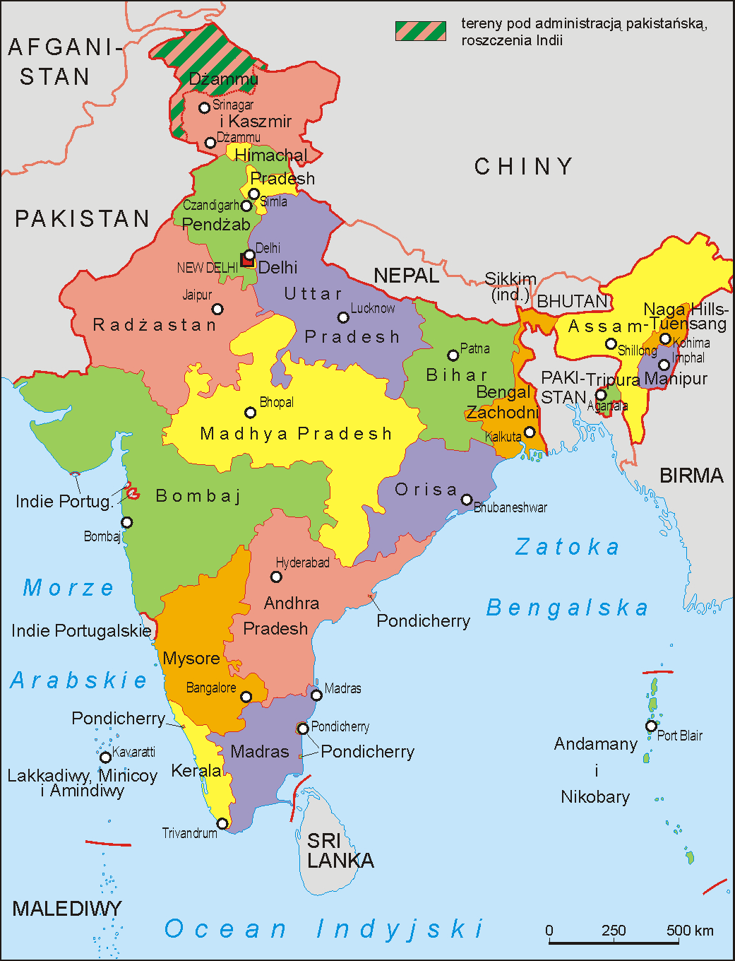 A fast that changed the map of India | Guruprasad's Portal india map
