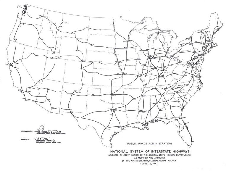 Fileinterstate highway plan august 2 1947g wikimedia commons fileinterstate highway plan august 2 1947g publicscrutiny Image collections
