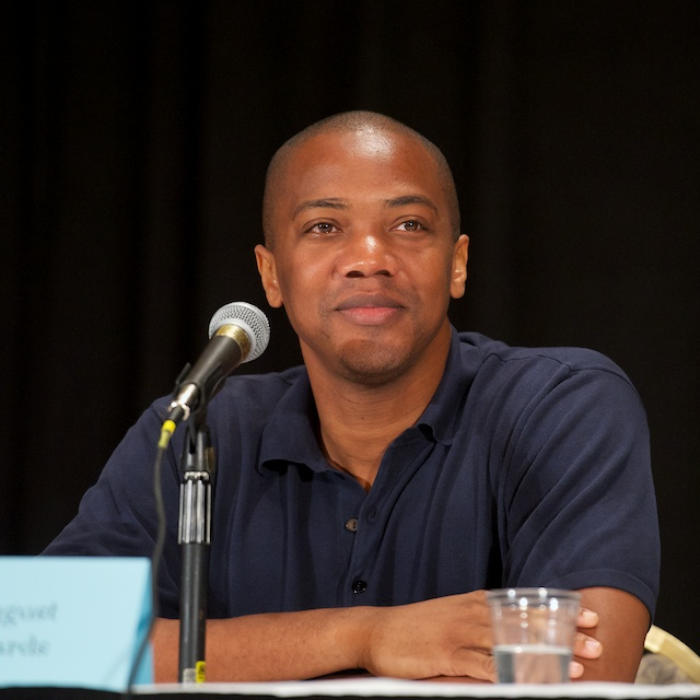 J. August Richards at the August 31, 2012 [[DragonCon]]