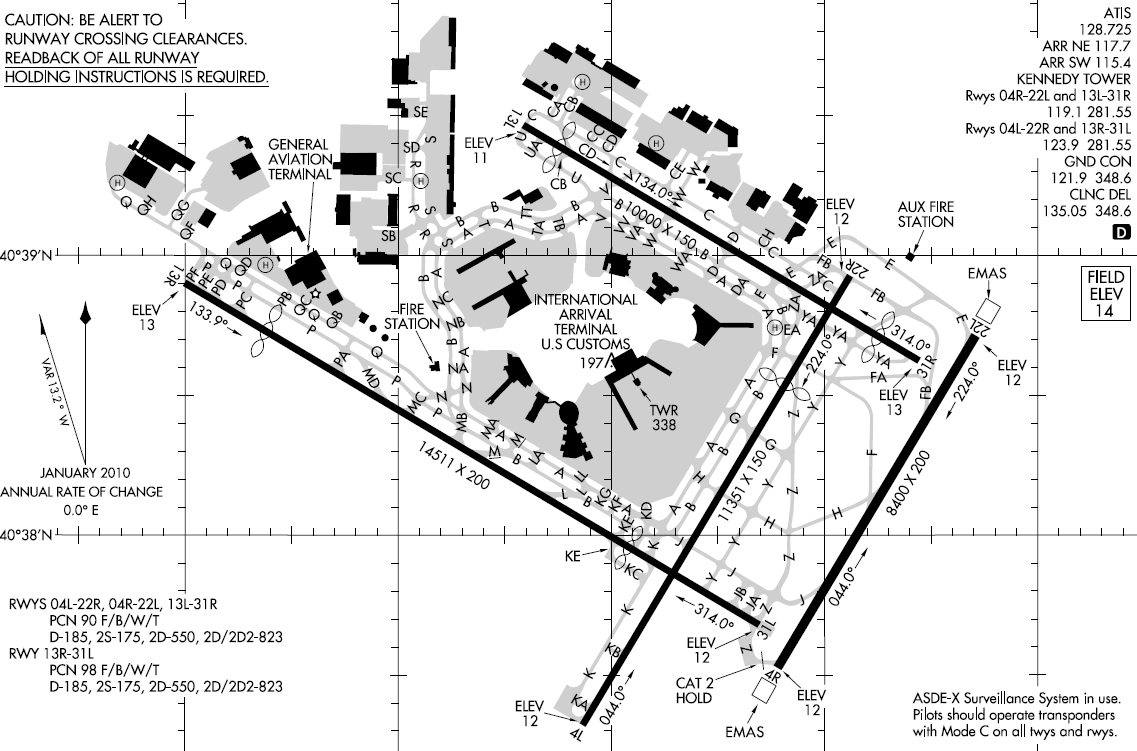 John F Kennedy Airport Map Pdf New york john f kennedy