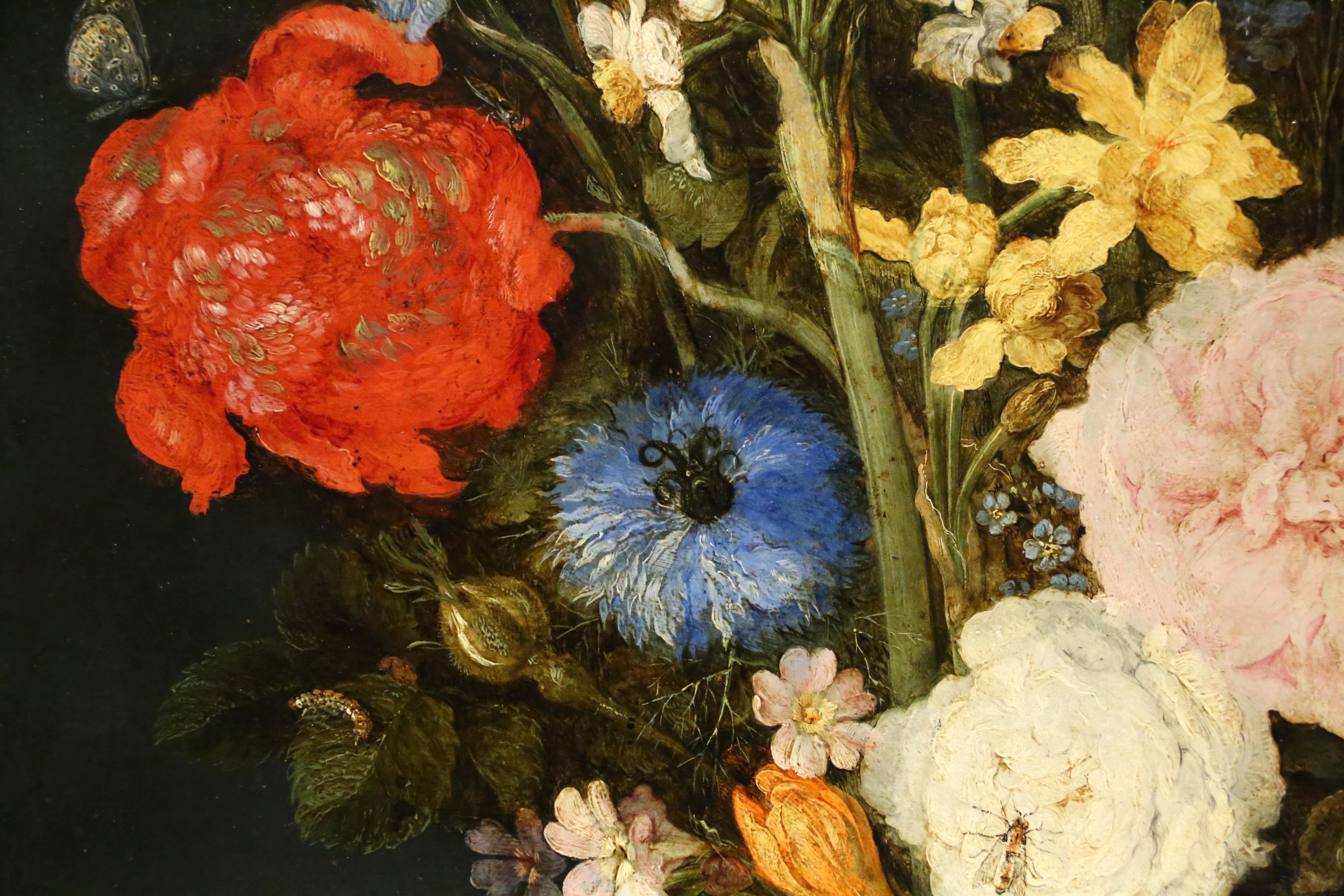 File:Jan Bruegel Il Vecchio, Natura Morta Con Tulipani, Crisantemi, Narcisi,