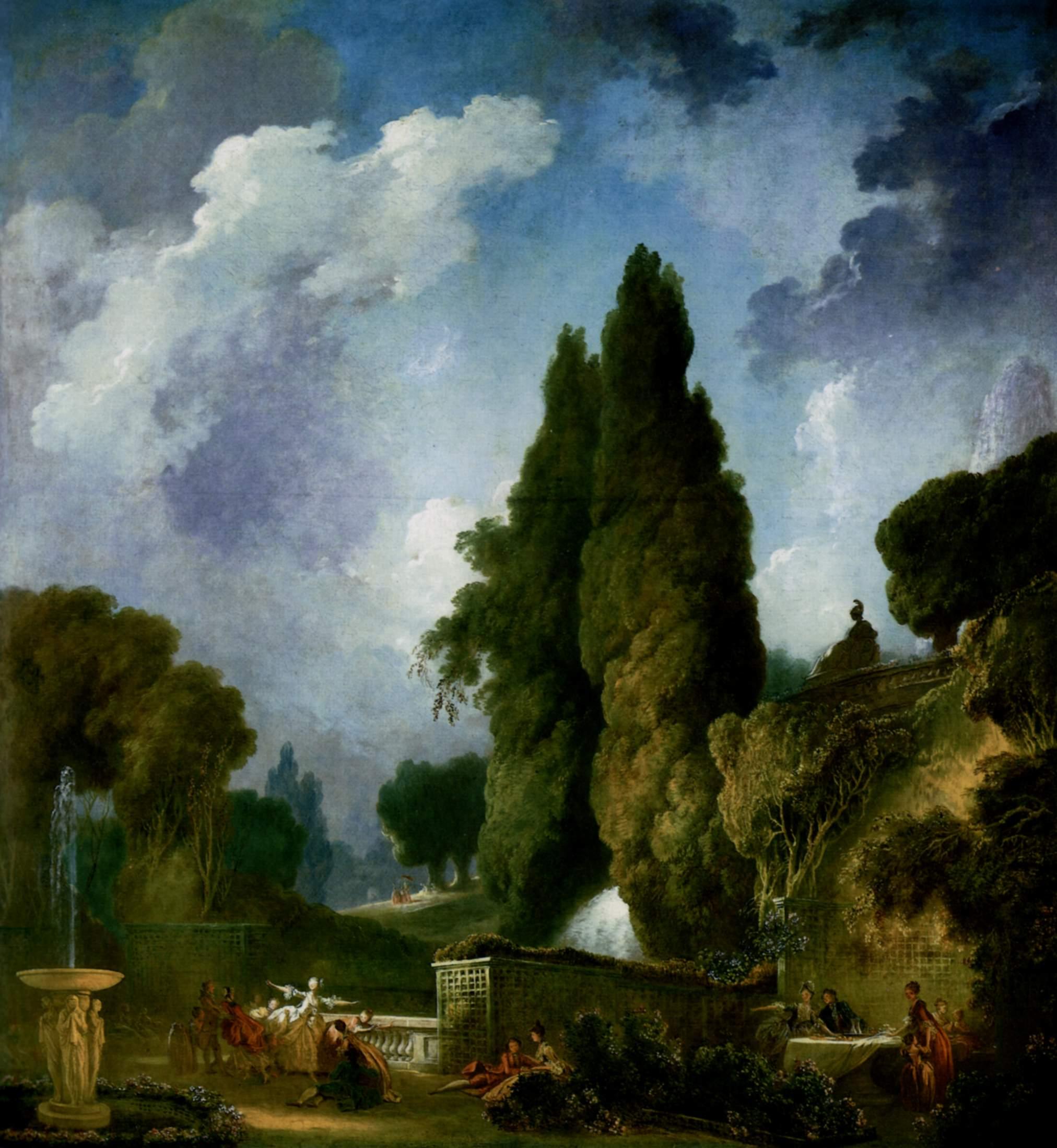 Jean Honore Fragonard The Swing