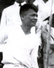 Dr John Sung after his first Singapore visit in 1935, about to sail for Shanghai