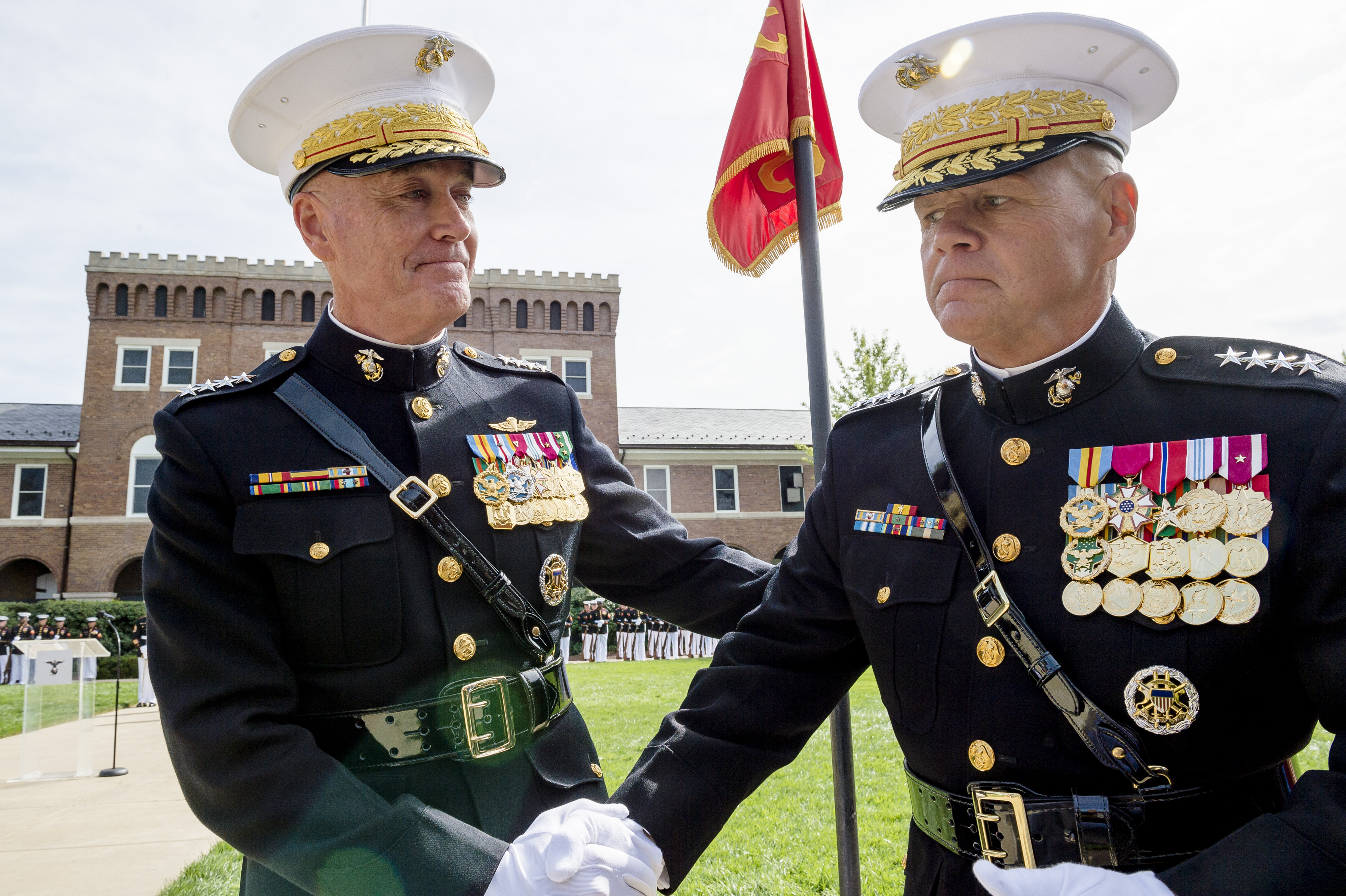 File:Joseph F. Dunford relinquished command to Gen. Robert ...