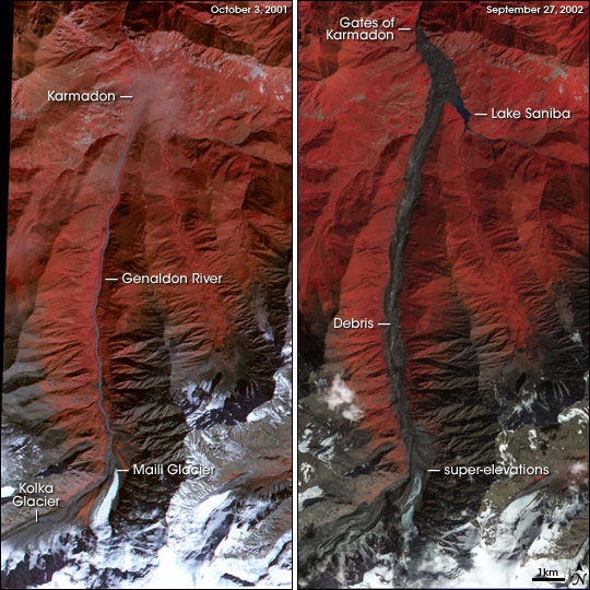 Kolka Karmadon Rock Ice Slide Wikipedia