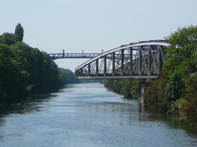 Knutsford Road Swing Bridge, Warrington - geograph.org.uk - 1625723
