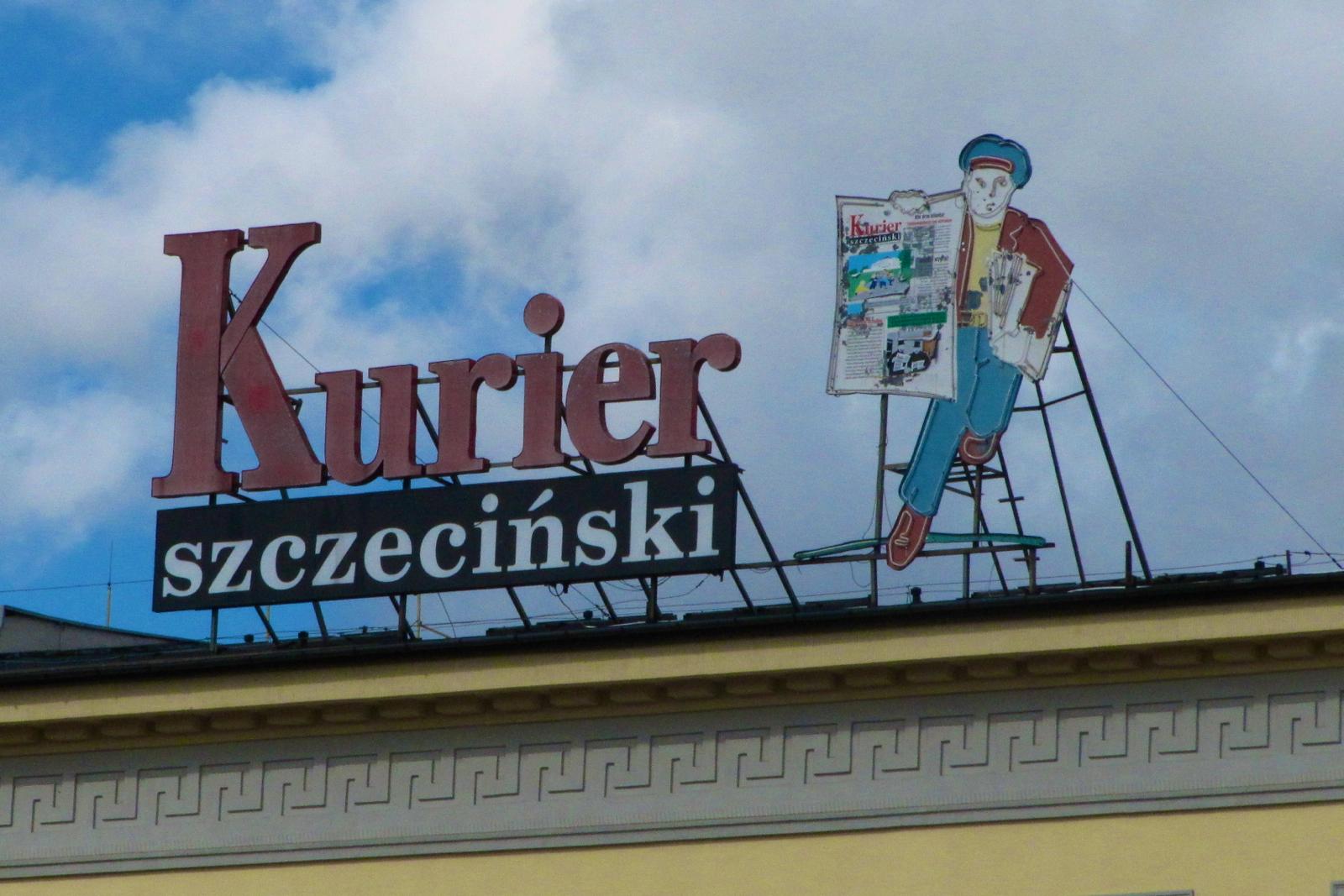 Znalezione obrazy dla zapytania kurier szczeciński budynek