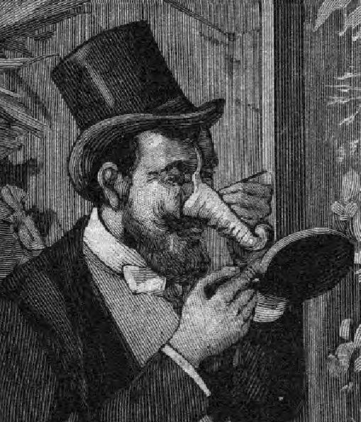 Le faux-nez, un grand classique du Carnaval de Paris