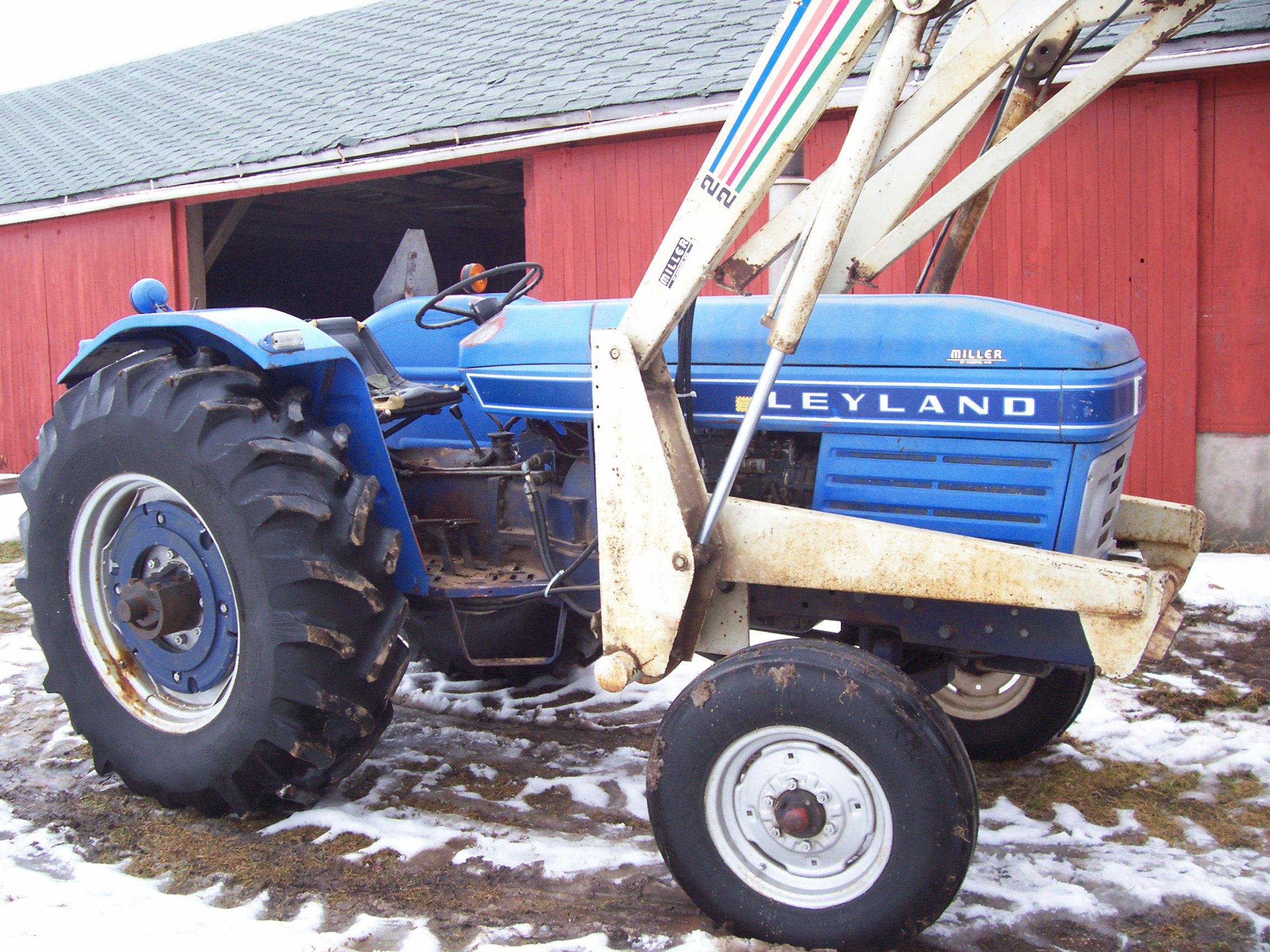 Leyland Tractor on Range Rover Engines Wiki