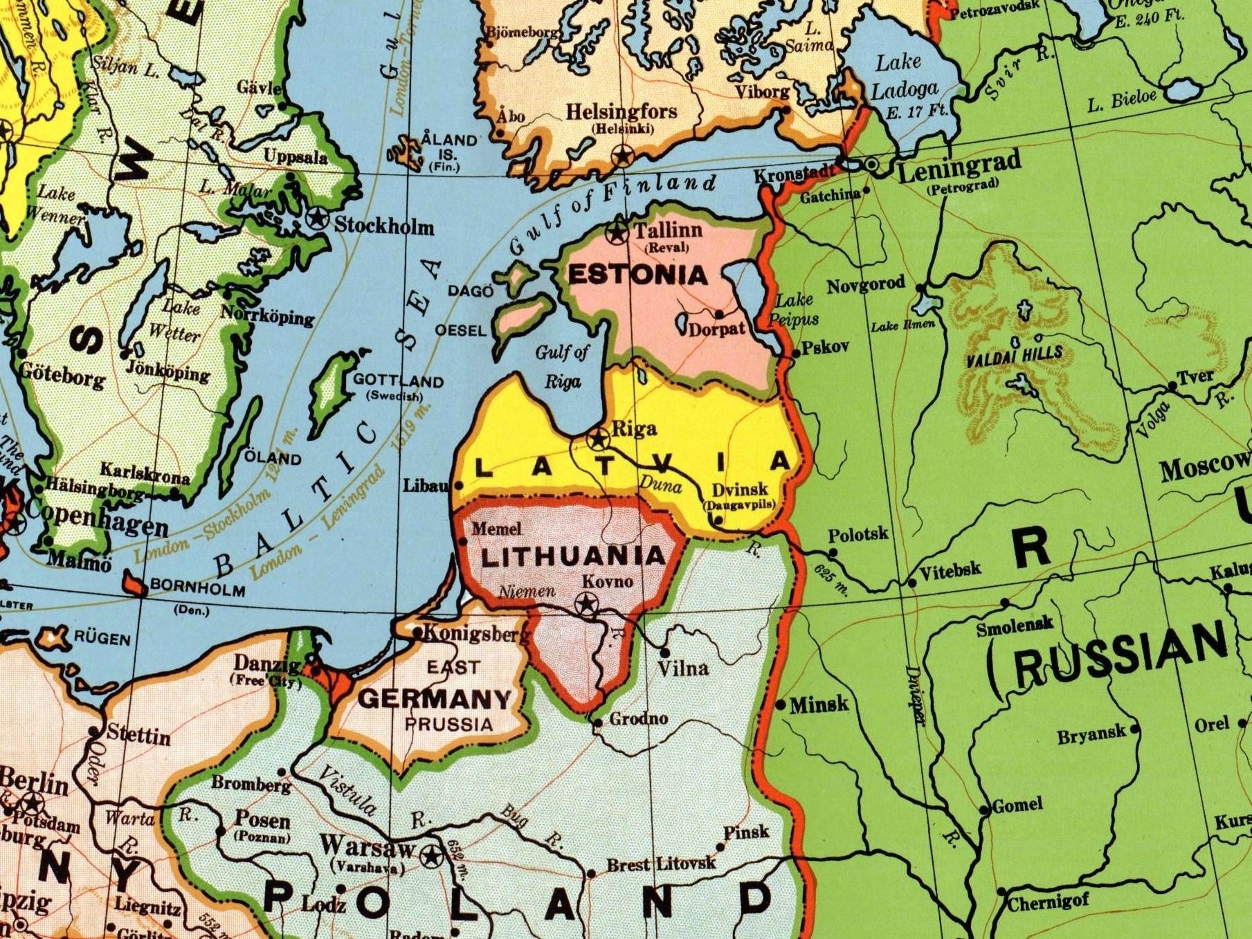 Baltic Entente - Wikipedia