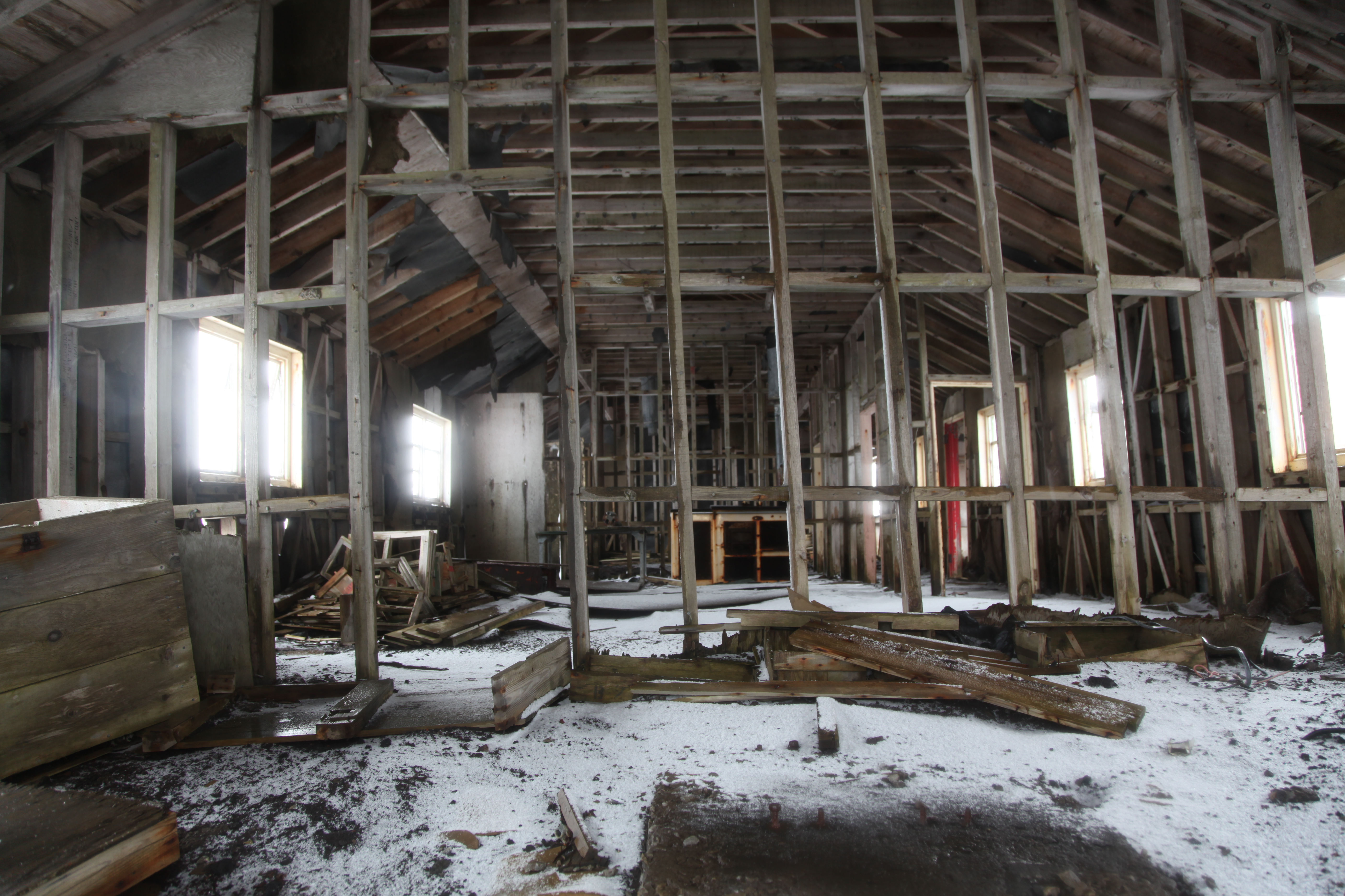 The Abandoned Building Haunted House Wi