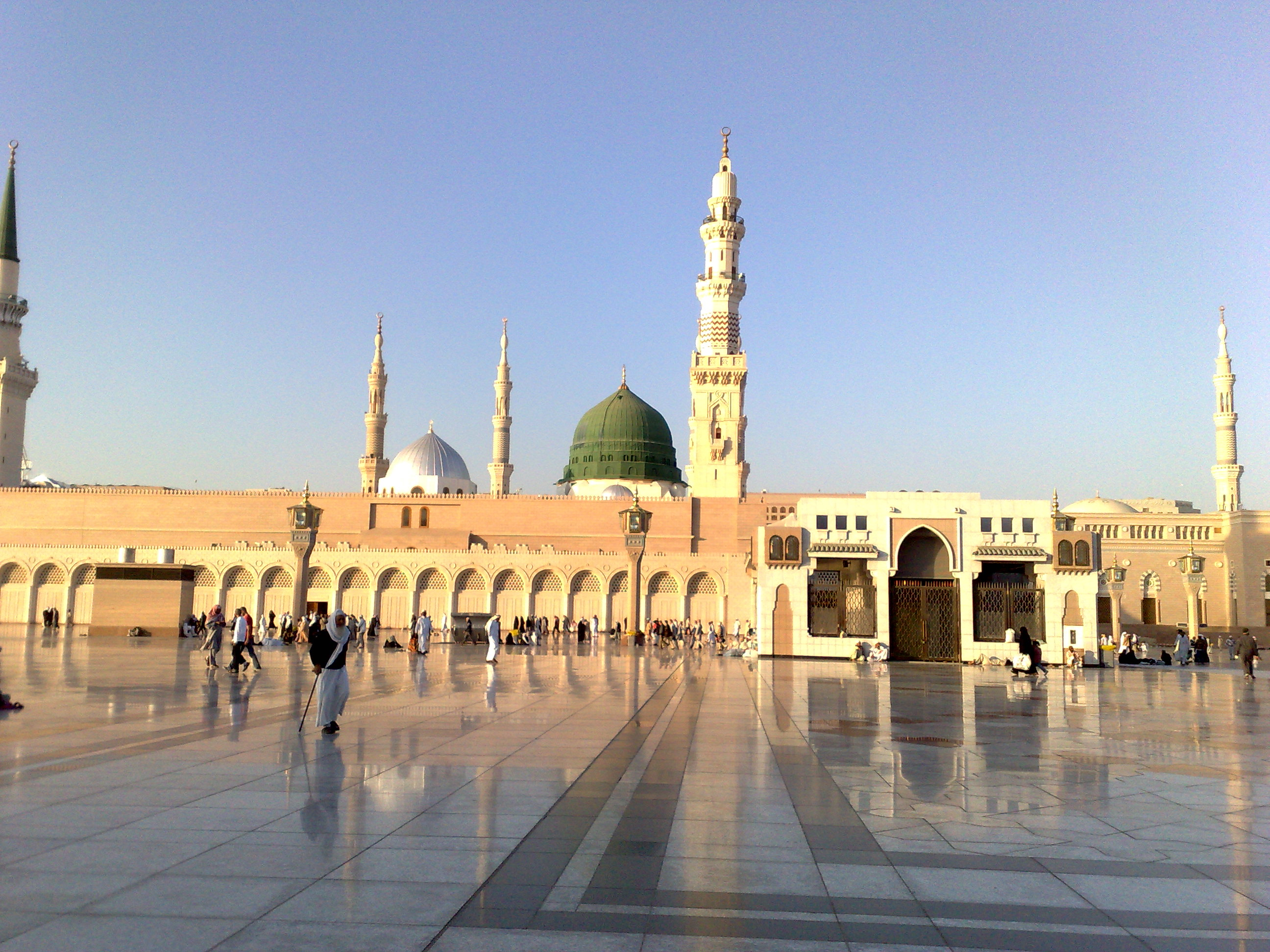 Hd wallpaper masjid - File Madeena Masjid Nabavi 12122008227 Jpg